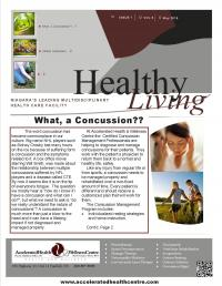 Spring Newsletter: Concussions, Gardening Safely